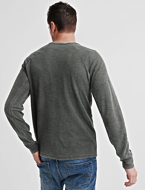 VENICE BURNOUT RAGLAN THERMAL, ROSIN