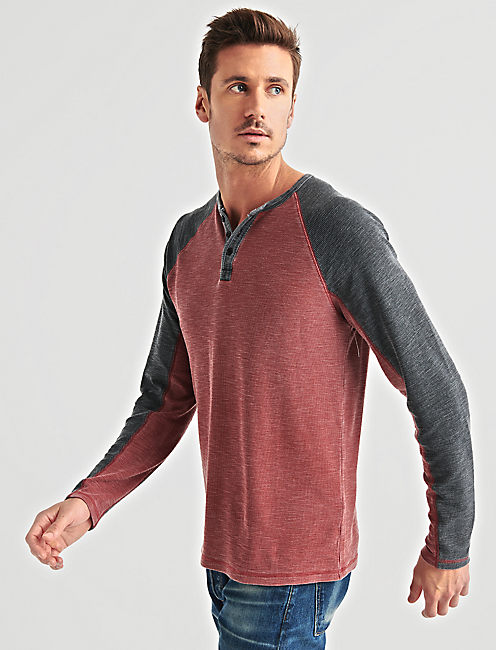 Lucky Venice Burnout Raglan Thermal