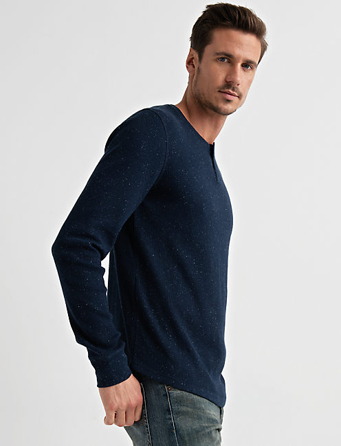SNOW HEATHER THERMAL, NAVY