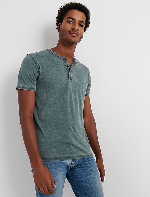 VENICE BURNOUT HENLEY, SYCAMORE