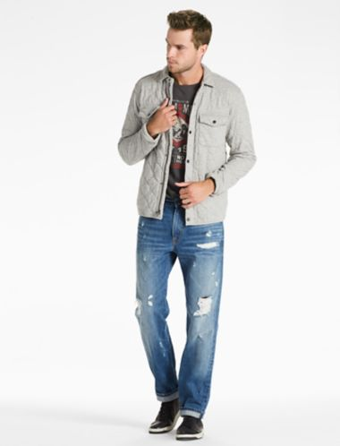 Lucky Quilted Western Shirt Jacket