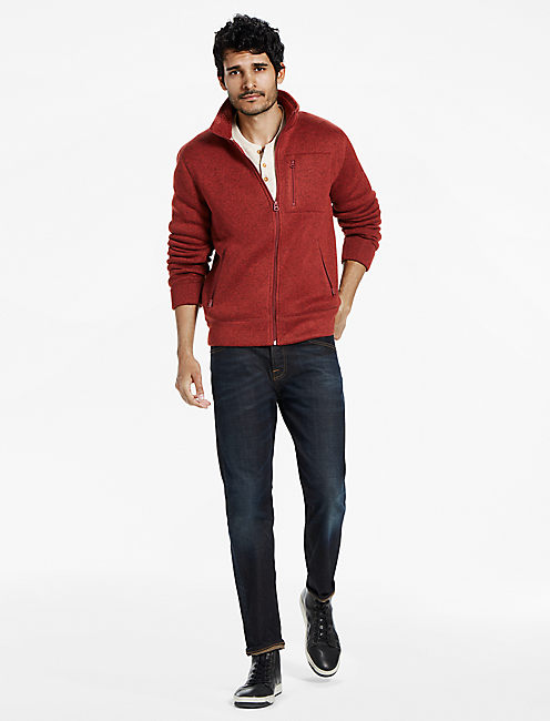 Lucky Shearless Fleece Full Zip Mockneck