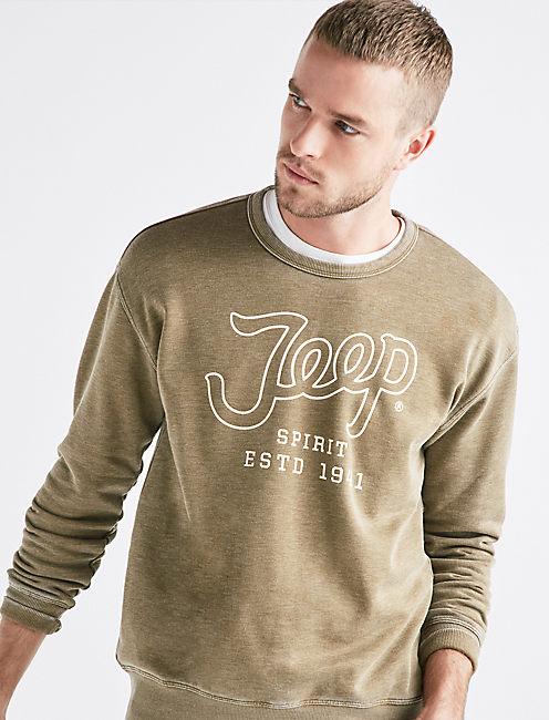 Jeep Burnout Sweatshirt,