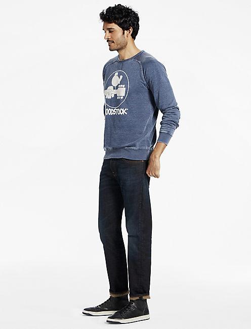 Lucky Woodstock Logo Crew Sweatshirt