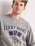 MADE IN L.A. LUCKY CLOVER SWEATSHIRT,