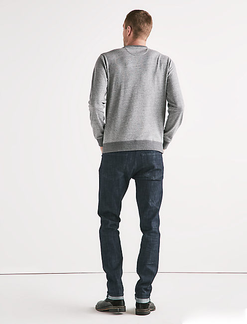 TRIUMPH SWEATSHIRT, HEATHER GREY
