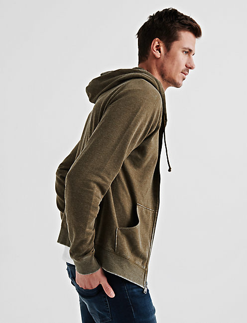 Lucky Venice Burnout Full Zip Hood