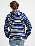 MIXED STRIPED HOODIE,