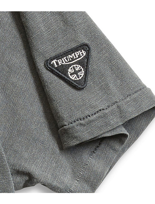 TRIUMPH BADGE TEE,