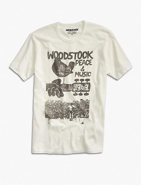 WOODSTOCK PEACE & MUSIC TEE,