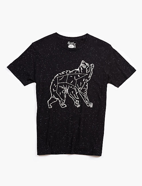 EMBROIDERED CONSTELLATION BEAR TEE,
