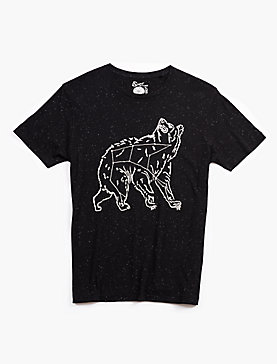 EMBROIDERED CONSTELLATION BEAR TEE