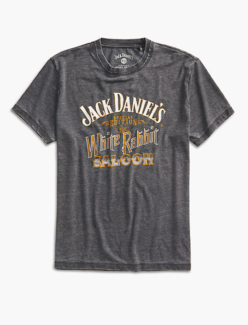 JACK DANIELS WHITE RABBIT TEE,