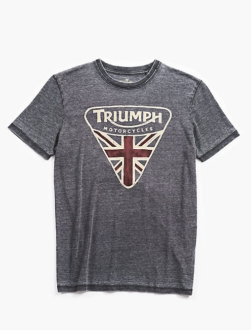 TRIUMPH BADGE TEE,