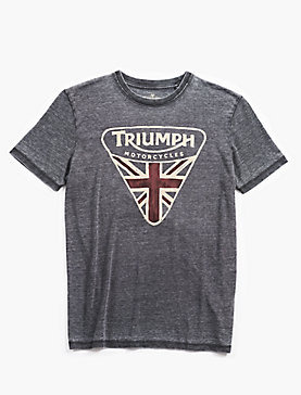 TRIUMPH BADGE TEE