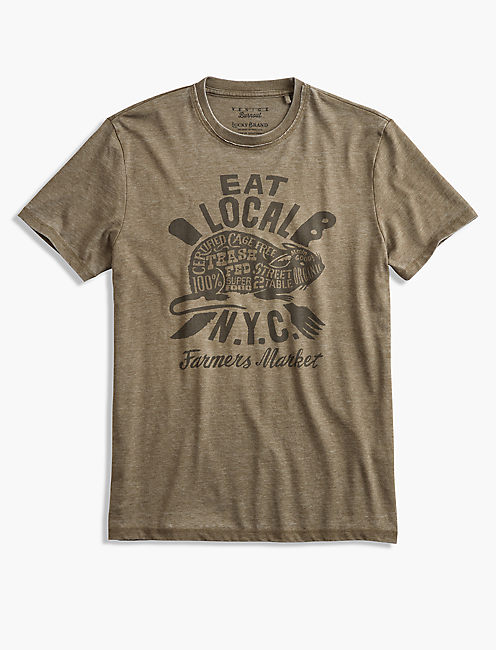 EAT LOCAL RAT TEE,
