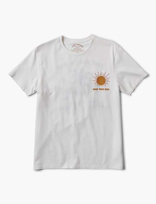 DESTINATIONAL EMBROIDERED TEE,