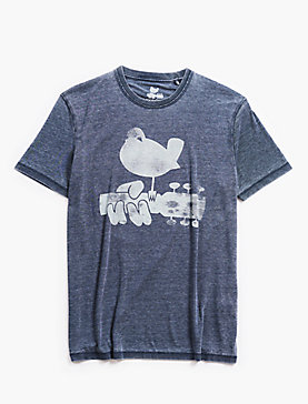 WOODSTOCK BURNOUT TEE