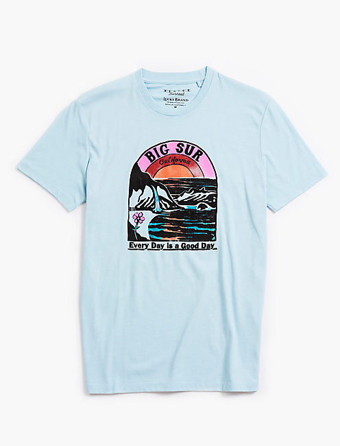 VENICE BURNOUT BIG SUR TEE,