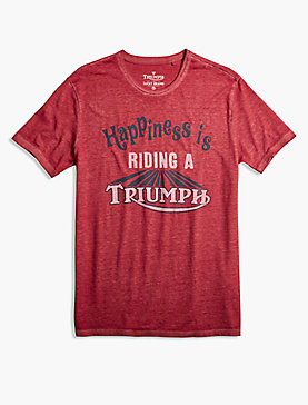 TRIUMPH HAPPINESS TEE