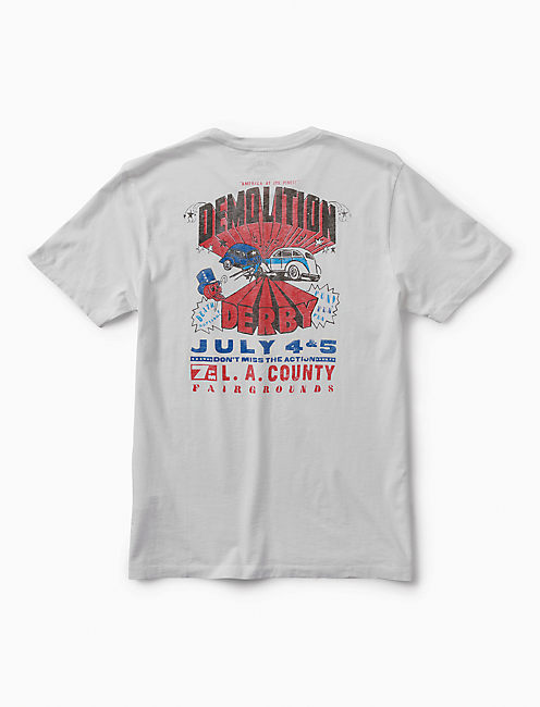 DEMOLITION DERBY TEE,