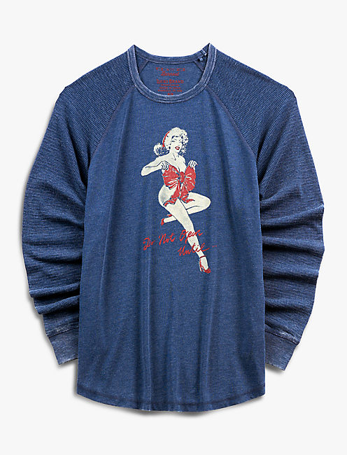 VENICE BURNOUT PIN UP THERMAL, AMERICAN NAVY