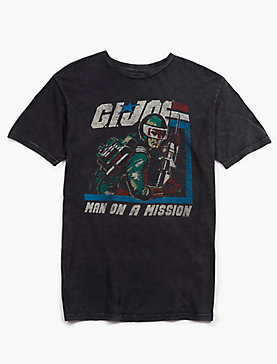GI JOE MAN ON A MISSION TEE