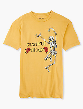 GRATEFUL DEAD SKELETON TEE