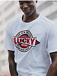 Totally Lucky Workwear Shape Tee,