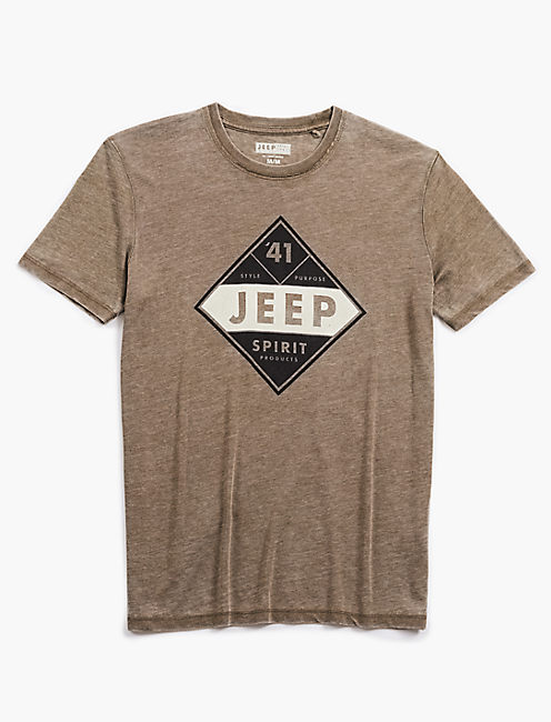 JEEP DIAMOND TEE,