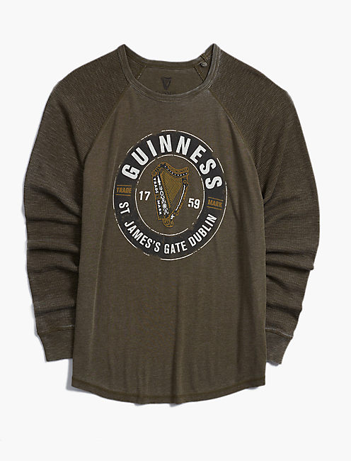 GUINNESS ST. JAMES BURNOUT THERMAL,