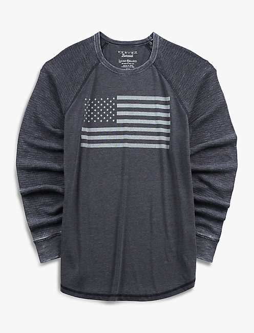 VENICE BURNOUT FLAG THERMAL,