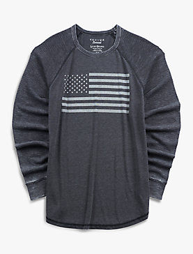 VENICE BURNOUT FLAG THERMAL
