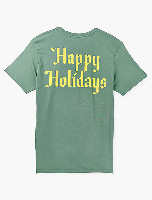 COCA COLA SANTA TEE, DUCK GREEN