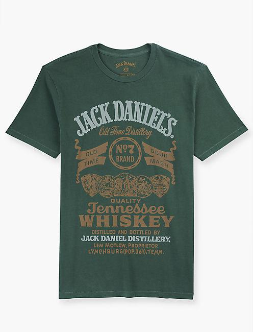 JACK DANIELS GREEN LABEL TEE, DUCK GREEN