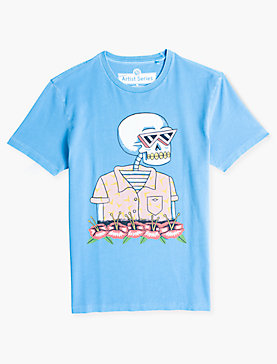 Luke Pelletier SKELETON TEE