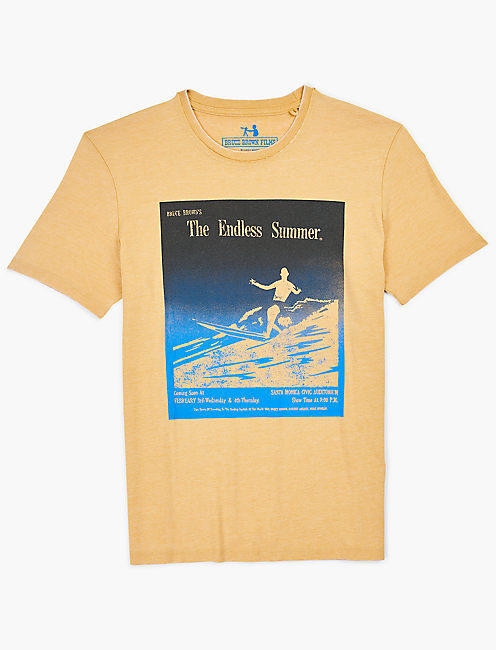 ENDLESS SUMMER TEE, DUSTY GOLD