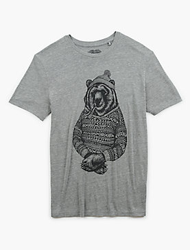 BEAR SWEATER SWEATER TEE