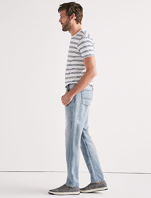 Lucky 181 Relaxed Straight Linen Jean