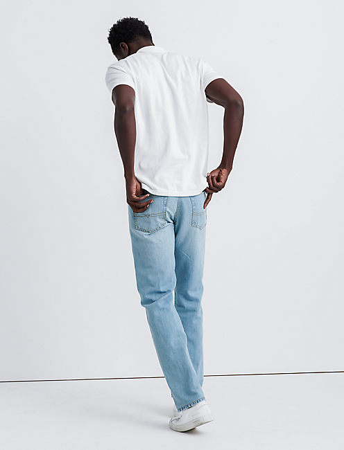 181 RELAXED STRAIGHT JEAN, KENT