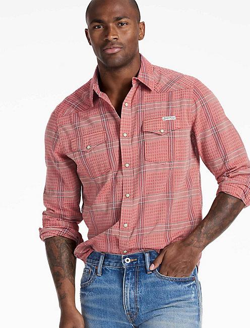 Long Sleeve San Gabriel Western Shirt,