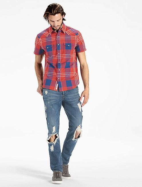 Lucky Short Sleeve San Gabriel Western Shirt