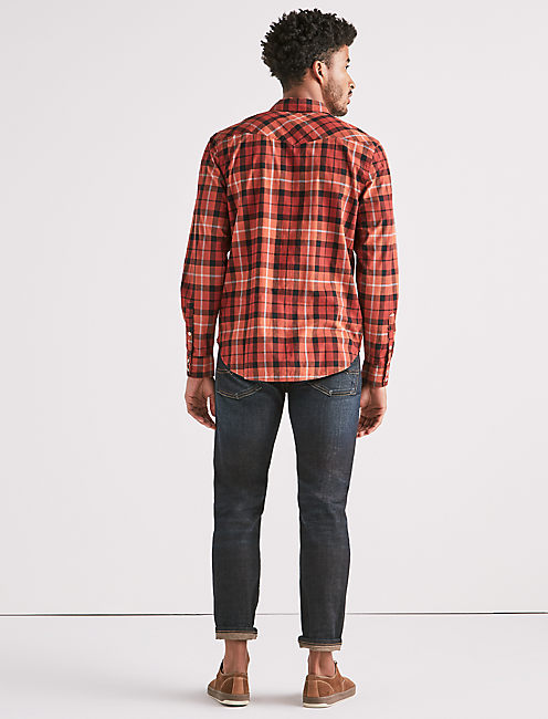 SATURDAY STRETCH POPLIN WESTERN SHIRT,