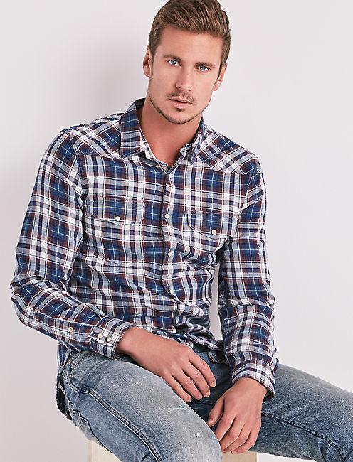 Indigo Western Shirt,