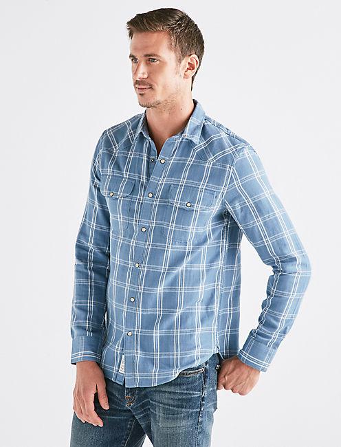 Double Weave Western Shirt,