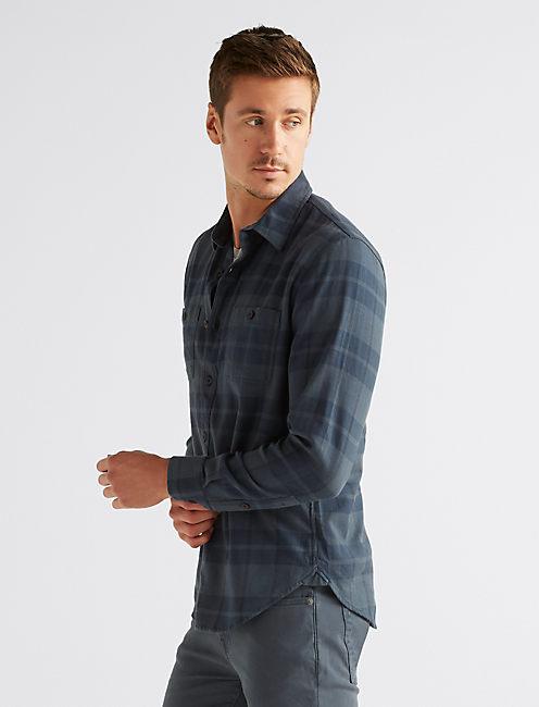 Long Sleeve CLEAN Two Pocket WORK WEAR Shirt,
