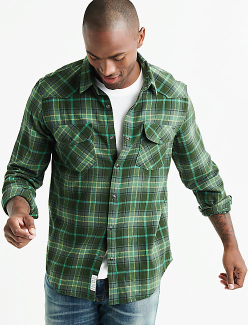 Flannel Western Shirt,