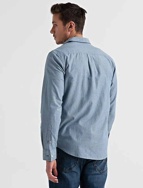 Long Sleeve One Pocket BALLONA Shirt,