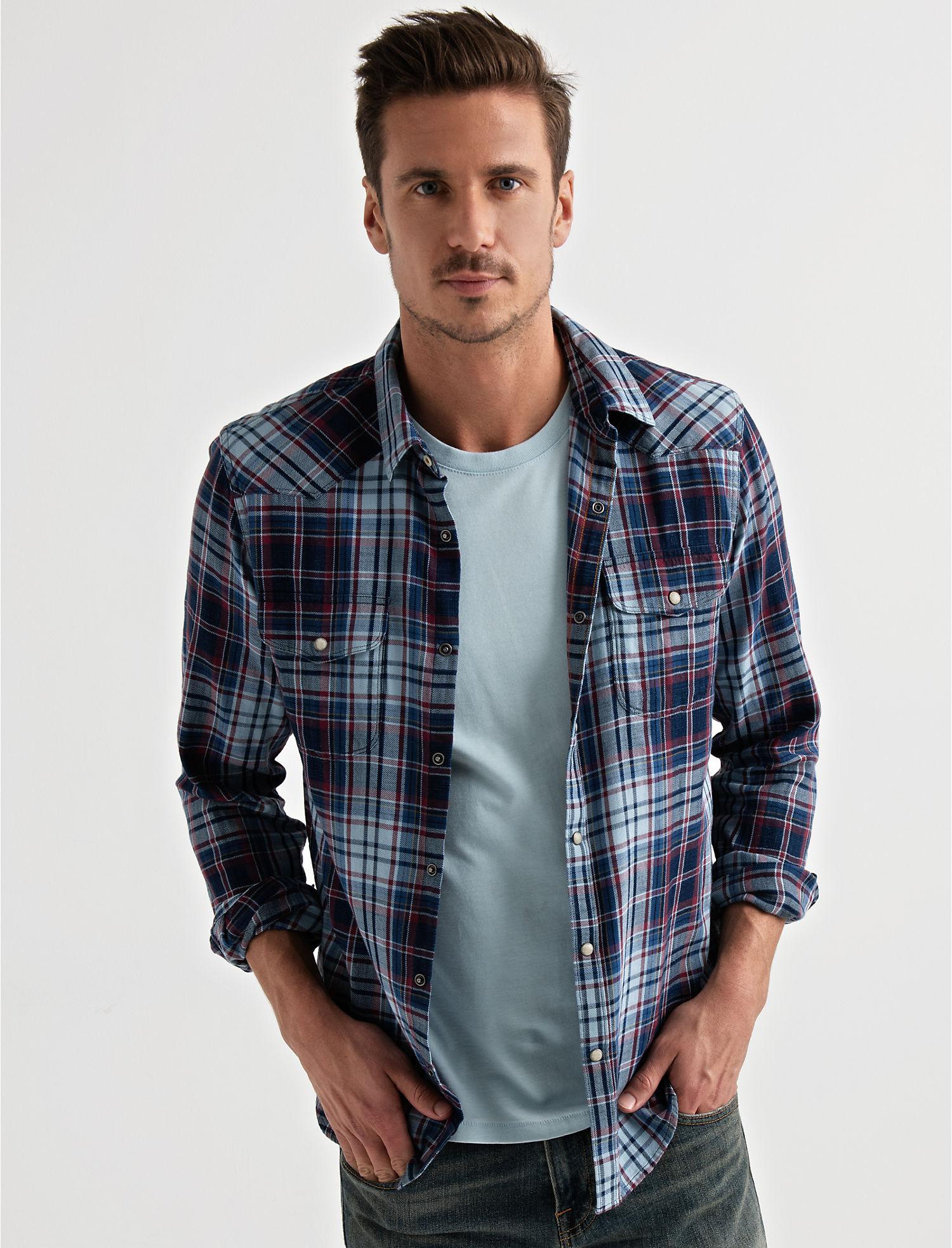 571da8b0f5 Long Sleeve SANTA FE WESTERN Shirt