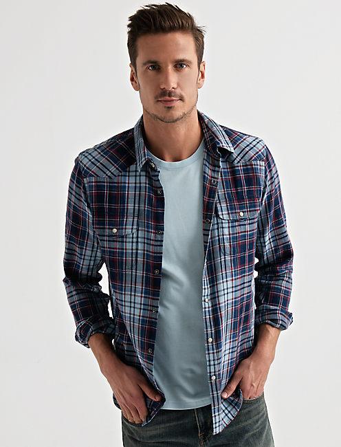 Long Sleeve SANTA FE WESTERN Shirt,
